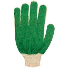 Перчатки вязанные 4-х нить с облитым ПВХ покрытием наладонником