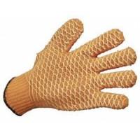 """Перчатки трикотажные с круговым полимерным покрытием """"Крис-Кросс"""""""