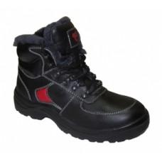 Ботинки кожаные с композитным подноском 22РНМ (нат. мех)