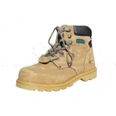 Ботинки  нубук В.О. с мет/подноском  резиновая подошва МБС Hummer цв. Песочный